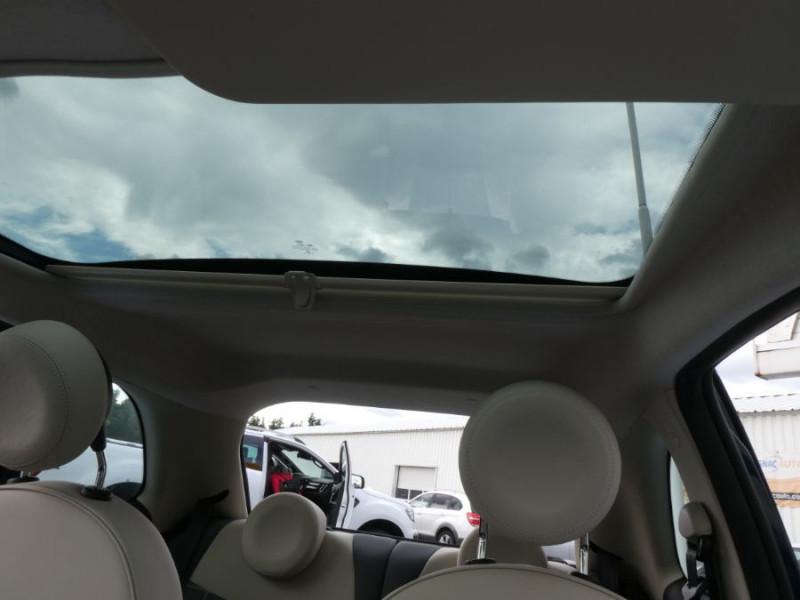 Photo 6 de l'offre de FIAT 500 1.2 69 Dualogic PACK LOUNGE TOIT Pano GPS (10 Options) à 14390€ chez Mérignac auto