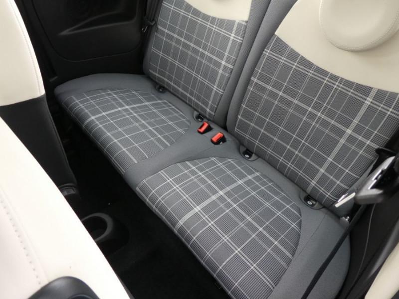 Photo 10 de l'offre de FIAT 500 1.2 69 Dualogic PACK LOUNGE TOIT Pano GPS (10 Options) à 14390€ chez Mérignac auto
