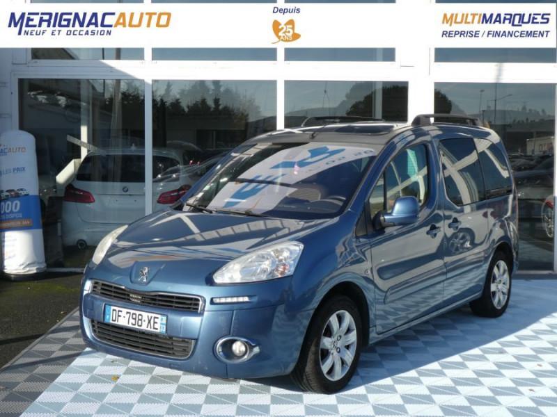 Peugeot PARTNER 1.6 E-HDI 92 ZENITH DIESEL BLEU KYANOS Occasion à vendre
