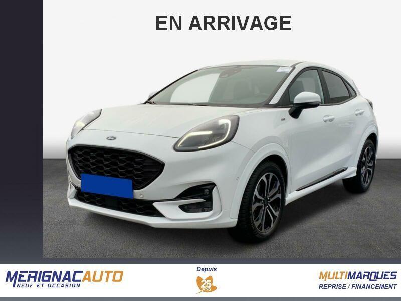 Photo 1 de l'offre de FORD PUMA 1.0 EcoBoost 125 DCT7 ST-LINE (8 Equips. Optionnels) à 24950€ chez Mérignac auto