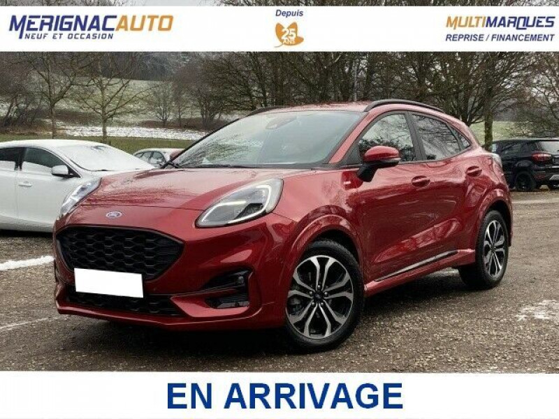 Ford PUMA 1.0 EcoBoost 125 DCT7 ST-LINE (8 Equips. Optionnels) ESSENCE ROUGE FANTASTIC Neuf à vendre