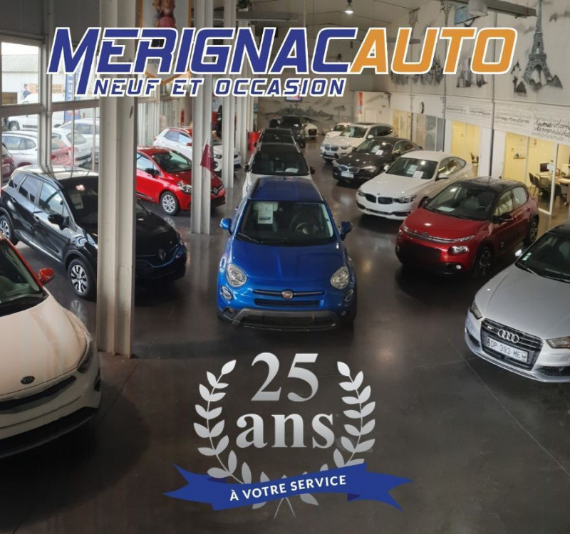 Photo 14 de l'offre de FIAT 500 1.2 69 Dualogic PACK LOUNGE TOIT Pano GPS (10 Options) à 14390€ chez Mérignac auto