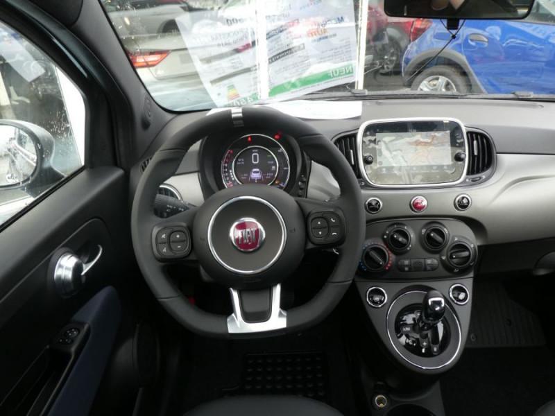 Photo 7 de l'offre de FIAT 500 1.2 69 Dualogic ROCKSTAR GPS TFT TOIT Pano JA16 à 15450€ chez Mérignac auto