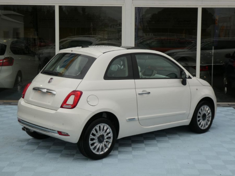 Photo 3 de l'offre de FIAT 500 1.2 69 Dualogic PACK LOUNGE TOIT Pano GPS (10 Options) à 14390€ chez Mérignac auto