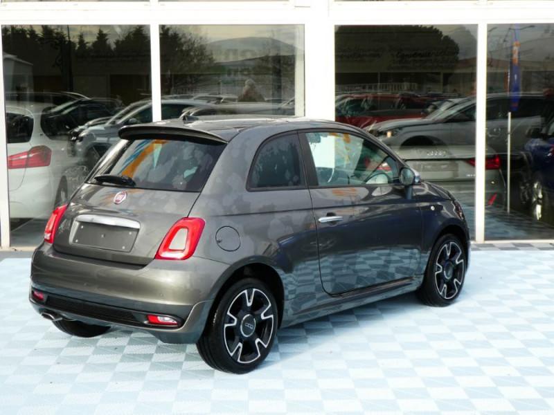 Photo 4 de l'offre de FIAT 500 1.2 69 Dualogic ROCKSTAR GPS TFT TOIT Pano JA16 à 15450€ chez Mérignac auto