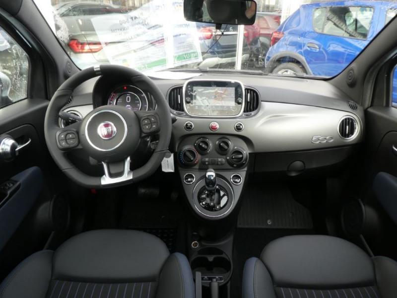 Photo 5 de l'offre de FIAT 500 1.2 69 Dualogic ROCKSTAR GPS TFT TOIT Pano JA16 à 15450€ chez Mérignac auto