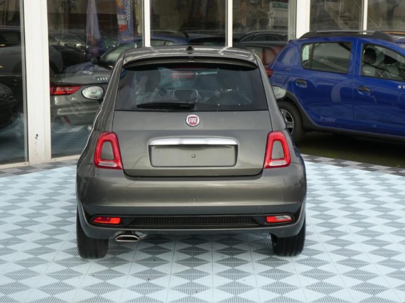 Photo 11 de l'offre de FIAT 500 1.2 69 Dualogic ROCKSTAR GPS TFT TOIT Pano JA16 à 15450€ chez Mérignac auto