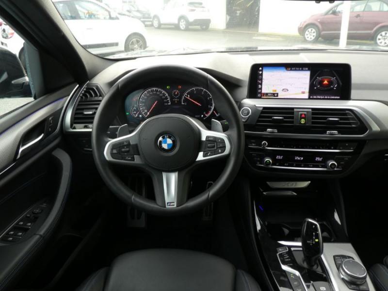 Photo 9 de l'offre de BMW X4 (G02) XDRIVE20D BVA8 190 M SPORT 360° Cmde Gestuelle Gtie 09/22 à 49850€ chez Mérignac auto