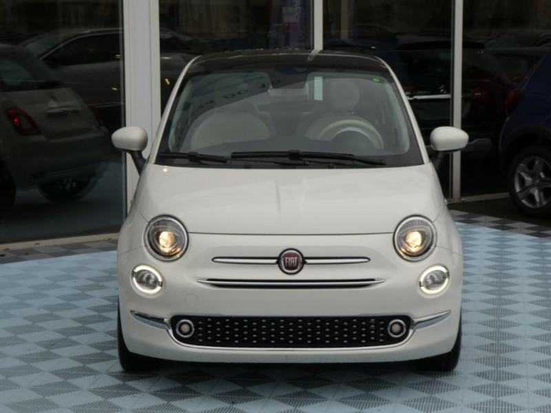 Photo 13 de l'offre de FIAT 500 1.2 69 Dualogic PACK LOUNGE TOIT Pano GPS (10 Options) à 14390€ chez Mérignac auto