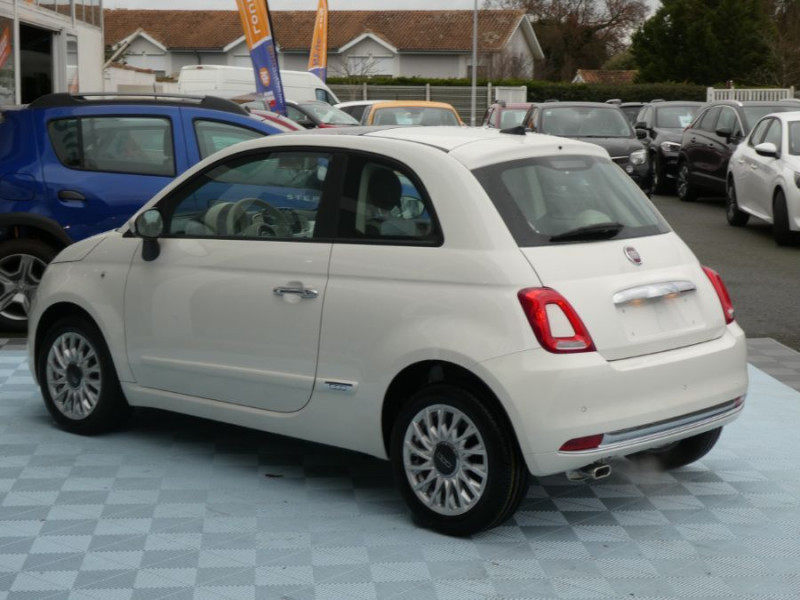 Photo 4 de l'offre de FIAT 500 1.2 69 Dualogic PACK LOUNGE TOIT Pano GPS (10 Options) à 14390€ chez Mérignac auto