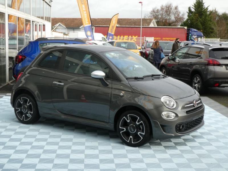 Photo 2 de l'offre de FIAT 500 1.2 69 Dualogic ROCKSTAR GPS TFT TOIT Pano JA16 à 15450€ chez Mérignac auto