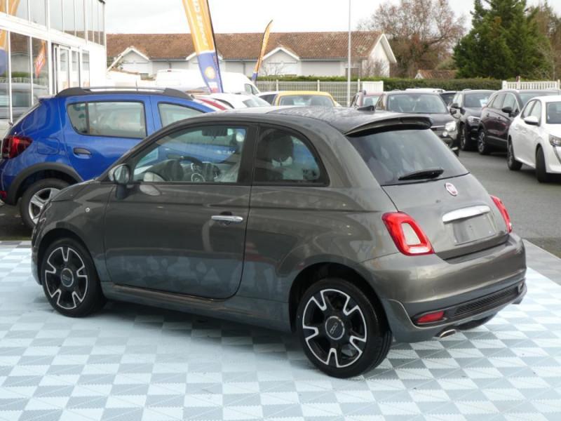 Photo 3 de l'offre de FIAT 500 1.2 69 Dualogic ROCKSTAR GPS TFT TOIT Pano JA16 à 15450€ chez Mérignac auto