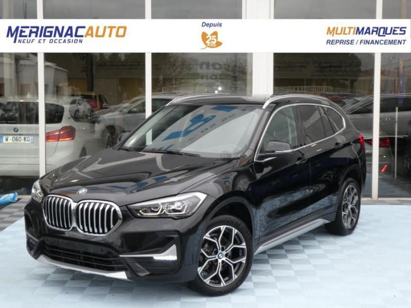 Photo 1 de l'offre de BMW X1 (F48) (2) New SDRIVE 18DA 150 BVA8 X LINE Camera Hayon elec. SC à 34500€ chez Mérignac auto