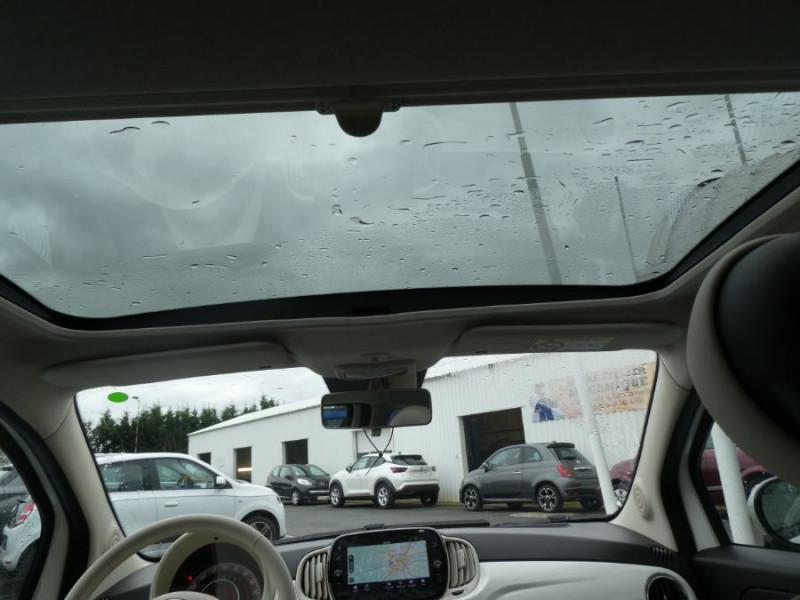 Photo 7 de l'offre de FIAT 500 1.0 70 BSG Hybrid BV6 LOUNGE Toit Pano GPS (10 Options) à 13980€ chez Mérignac auto