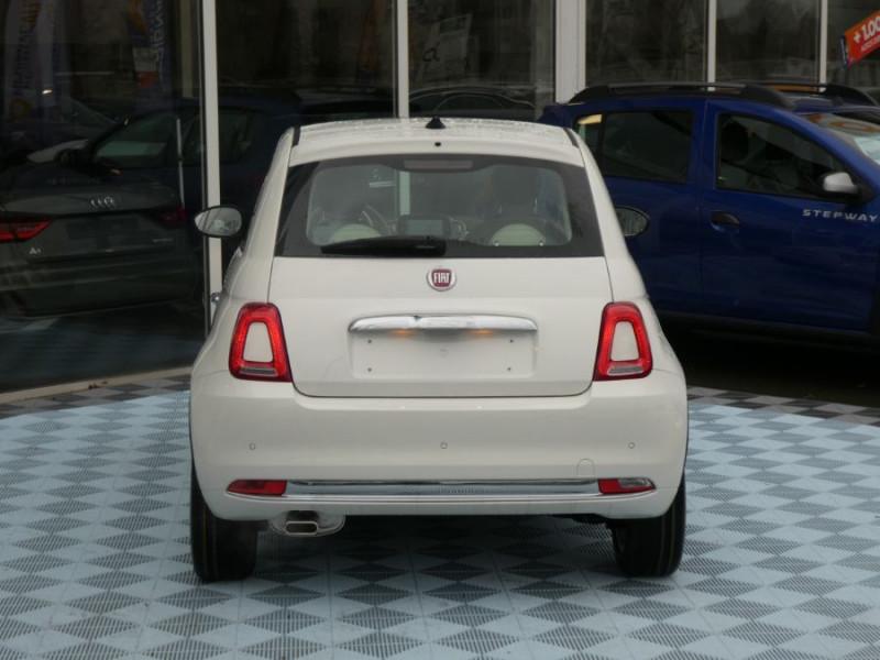 Photo 10 de l'offre de FIAT 500 1.0 70 BSG Hybrid BV6 LOUNGE Toit Pano GPS (10 Options) à 13980€ chez Mérignac auto