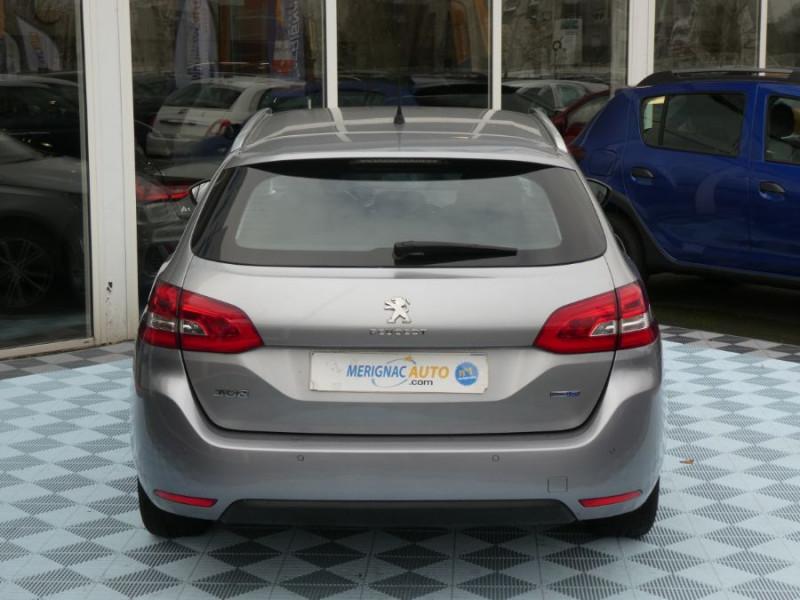 Photo 11 de l'offre de PEUGEOT 308 SW 1.6 BlueHDi 120 EAT6 ALLURE Radars à 12490€ chez Mérignac auto