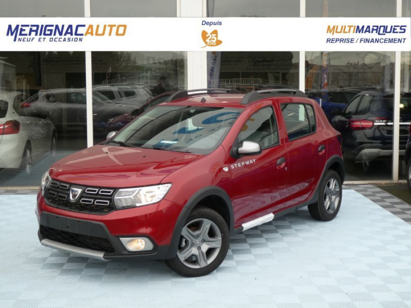 Dacia SANDERO BlueDCi 95 STEPWAY Camera (4 Options) DIESEL ROUGE FUSION METAL Neuf à vendre