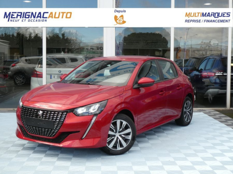 Peugeot 208 1.5 BlueHDi 100 BV6 ACTIVE PACK LED Camera DIESEL ROUGE ELIXIR METAL Neuf à vendre