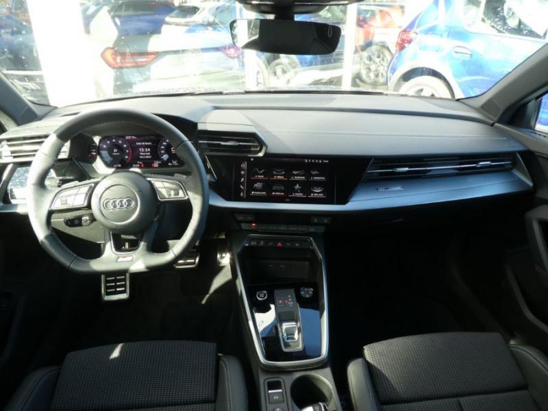 Photo 6 de l'offre de AUDI A3 SPORTBACK IV 40 TFSIe 204 S Tronic S LINE Mirror JA18 Sport à 40490€ chez Mérignac auto