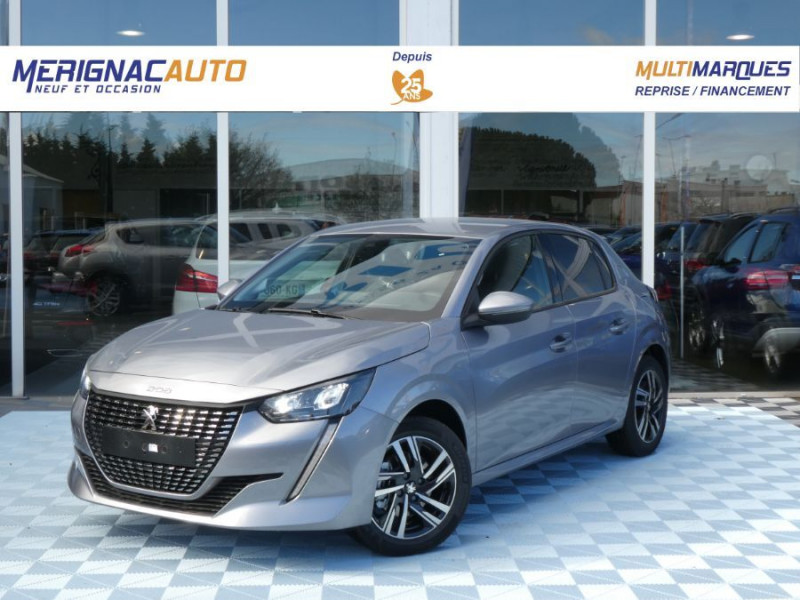 Peugeot 208 PureTech 100 BV6 ALLURE Induction Camera i-Cockpit 3D ESSENCE GRIS ARTENSE METAL Neuf à vendre