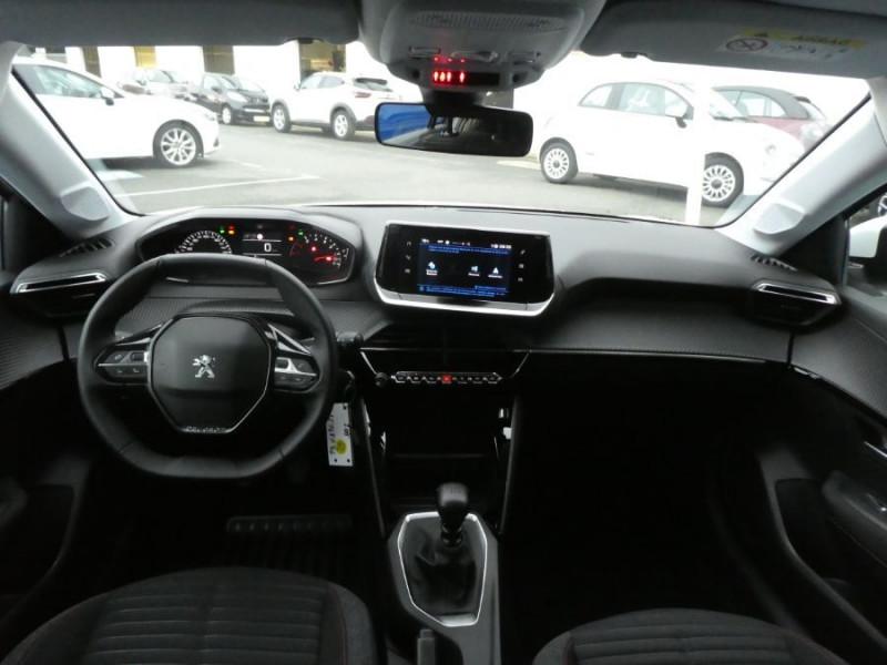 """Photo 4 de l'offre de PEUGEOT 208 1.5 BlueHDi 100 BV6 ACTIVE Mirror 7"""" LED à 18980€ chez Mérignac auto"""