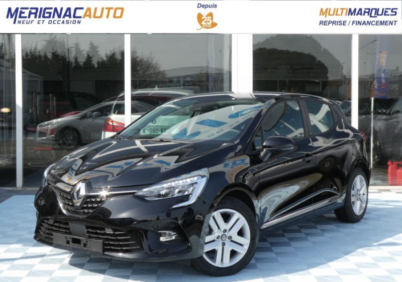 "Photo 1 de l'offre de RENAULT CLIO V 1.6 E-TECH 140 BVA ZEN Easy Link 7"" Pack City à 20250€ chez Mérignac auto"