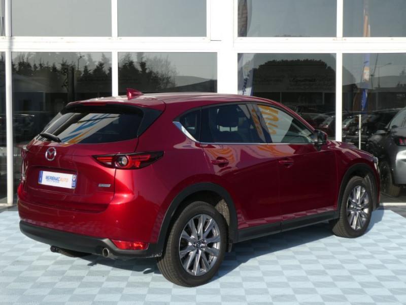 Photo 4 de l'offre de MAZDA CX-5 2.2 SKYACTIV-D 150 BVA 4x2 SELECTION CUIR 360° Attel à 30900€ chez Mérignac auto