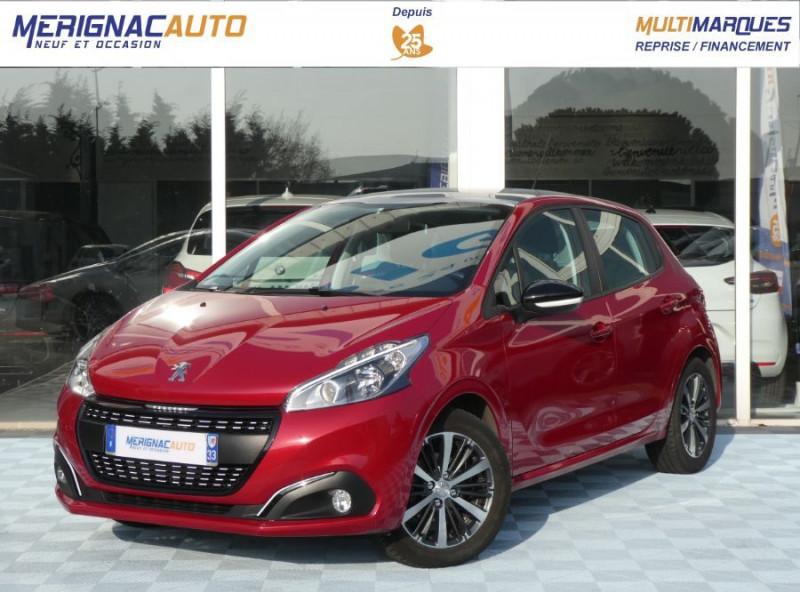 Peugeot 208 1.2 PureTech 82 Tech Edition GPS Camera TOIT Pano ESSENCE ROUGE MÉTAL Occasion à vendre