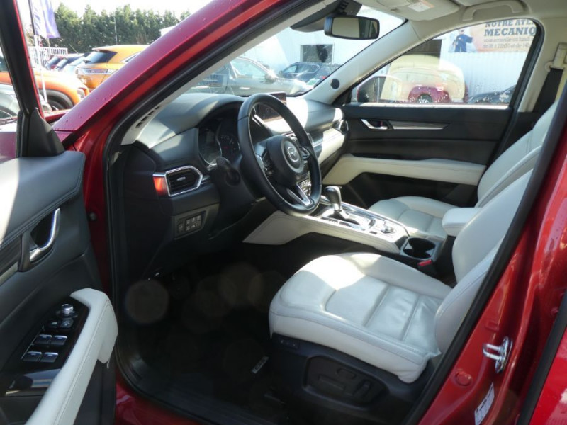 Photo 5 de l'offre de MAZDA CX-5 2.2 SKYACTIV-D 150 BVA 4x2 SELECTION CUIR 360° Attel à 30900€ chez Mérignac auto