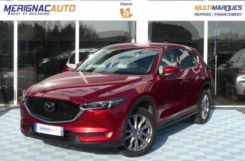 Mazda CX-5 2.2 SKYACTIV-D 150 BVA 4x2 SELECTION CUIR 360° Attel DIESEL ROUGE MÉTAL Occasion à vendre