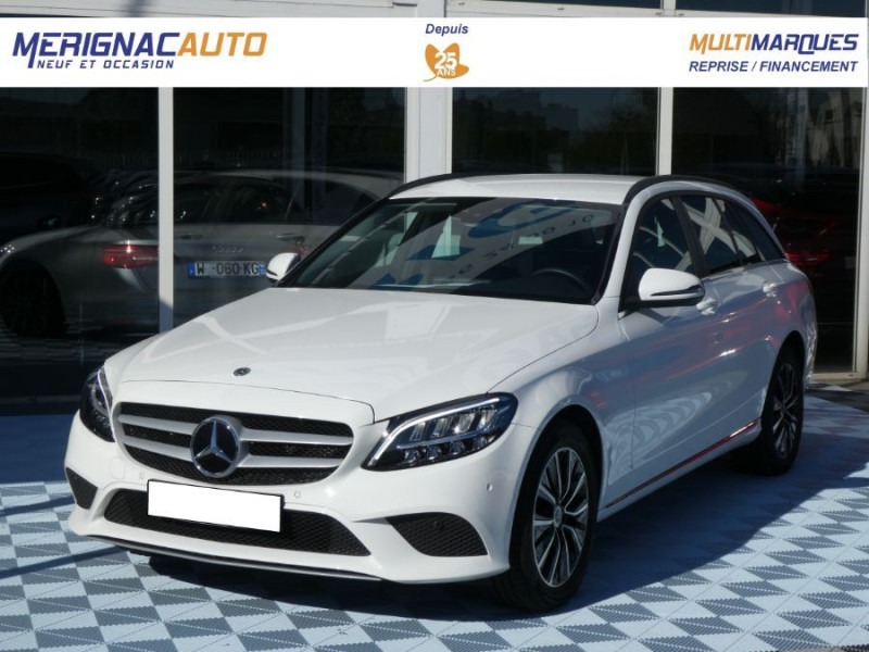 Mercedes-Benz CLASSE C SW IV 220 D 194 9G-Tronic SPORT LED Camera DIESEL BLANC POLAIRE Occasion à vendre
