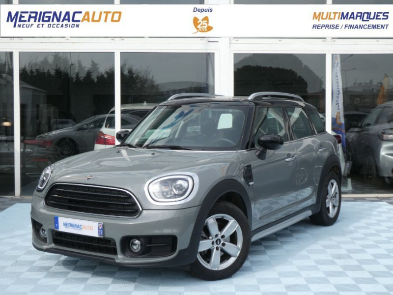 Mini COUNTRYMAN (F60) 2.0D 150 BVA8 COOPER GPS Camera Hayon elec. Gtie 07/23 DIESEL MOONWALK GREY METAL Occasion à vendre