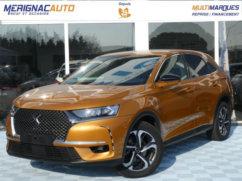 Ds DS7 CROSSBACK BlueHDi 180 EAT8 PACK LED Vision GPS Caméra DIESEL OR BYZANTIN NACREE Occasion à vendre