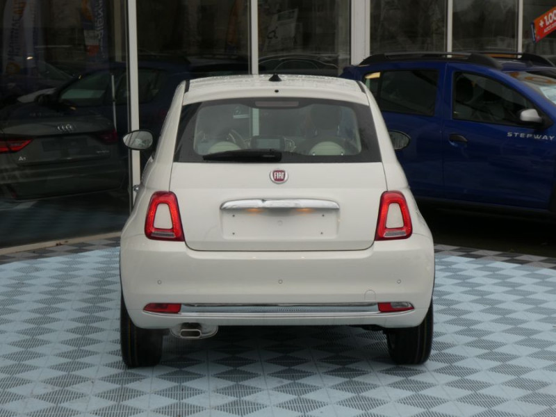 Photo 10 de l'offre de FIAT 500 1.0 70 BSG Hybrid BV6 LOUNGE Radar AB Pk Visi (8 Options) à 13480€ chez Mérignac auto