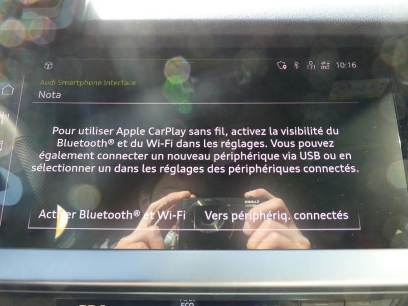 Photo 13 de l'offre de AUDI A3 SPORTBACK IV 35 TFSI 150 MHEV S Tronic 7 S LINE Mirror JA18 Audi Sport Etoile à 34980€ chez Mérignac auto