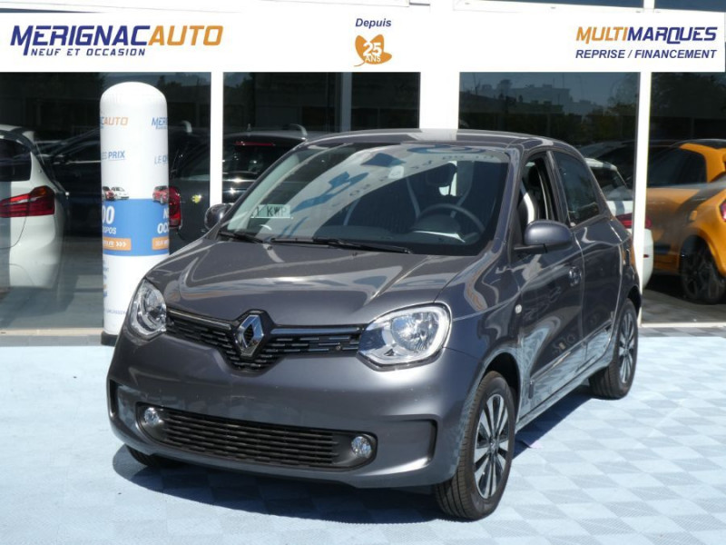 """Photo 1 de l'offre de RENAULT TWINGO New SCe 75 INTENS Ecran 7"""" Pack Confort Clim Auto à 12290€ chez Mérignac auto"""