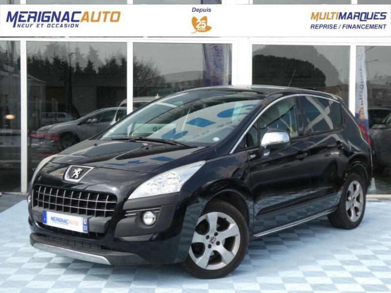 Peugeot 3008 1.6 E-HDI 115 BV6 STYLE GPS Toit Pano Pack Chrome 1ère Main DIESEL NOIR MÉTAL Occasion à vendre