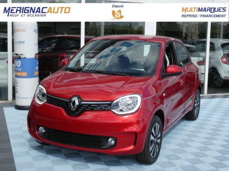 """Renault TWINGO III (2) 1.0 SCe 75 INTENS Ecran 7"""" Pack Confort Clim Auto ESSENCE ROUGE FLAMME NACRÉ Neuf à vendre"""