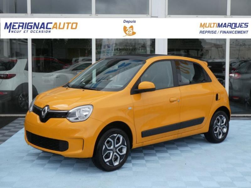 Renault TWINGO III (2) 1.0 SCe 75 LIMITED Grand Toit Ouvrant Elect. ESSENCE MANGUE PASTEL Neuf à vendre