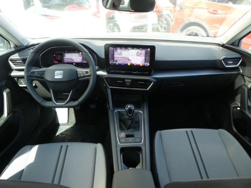 Photo 6 de l'offre de SEAT LEON IV 1.5 TSI 130 BV6 BUSINESS GPS Full LED RER Gtie 11/24 à 22750€ chez Mérignac auto