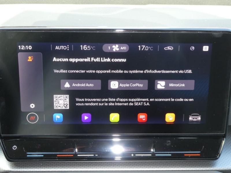 Photo 12 de l'offre de SEAT LEON IV 1.5 TSI 130 BV6 BUSINESS GPS Full LED RER Gtie 11/24 à 22750€ chez Mérignac auto