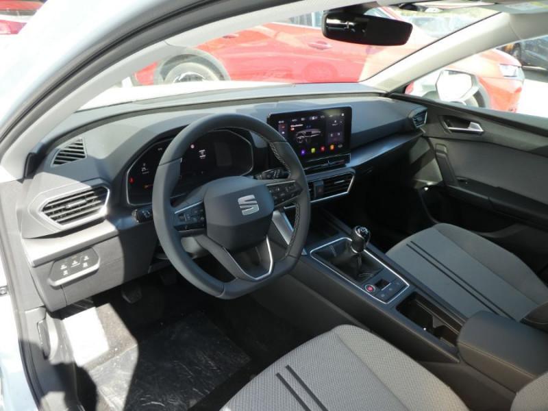 Photo 9 de l'offre de SEAT LEON IV 1.5 TSI 130 BV6 BUSINESS GPS Full LED RER Gtie 11/24 à 22750€ chez Mérignac auto