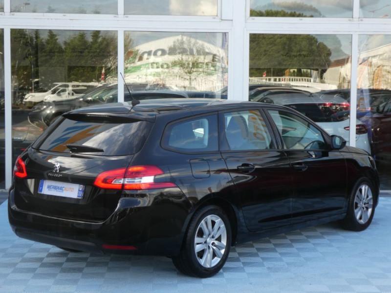 Photo 3 de l'offre de PEUGEOT 308 SW BlueHDI 130 EAT6 BUSINESS GPS TOIT Pano à 17490€ chez Mérignac auto