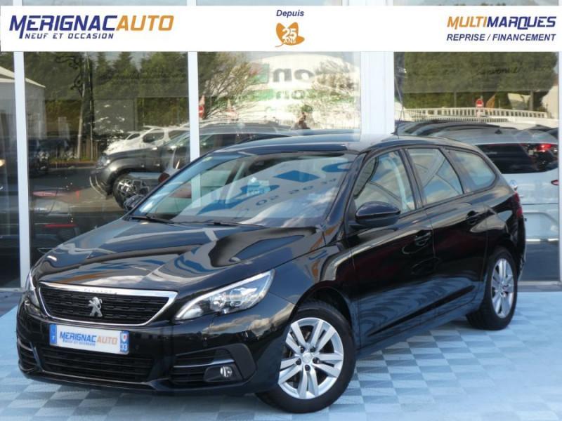 Peugeot 308 SW II (2) 1.5 BlueHDi 130 EAT6 BUSINESS GPS TOIT Pano DIESEL NOIR PERLE MÉTAL Occasion à vendre