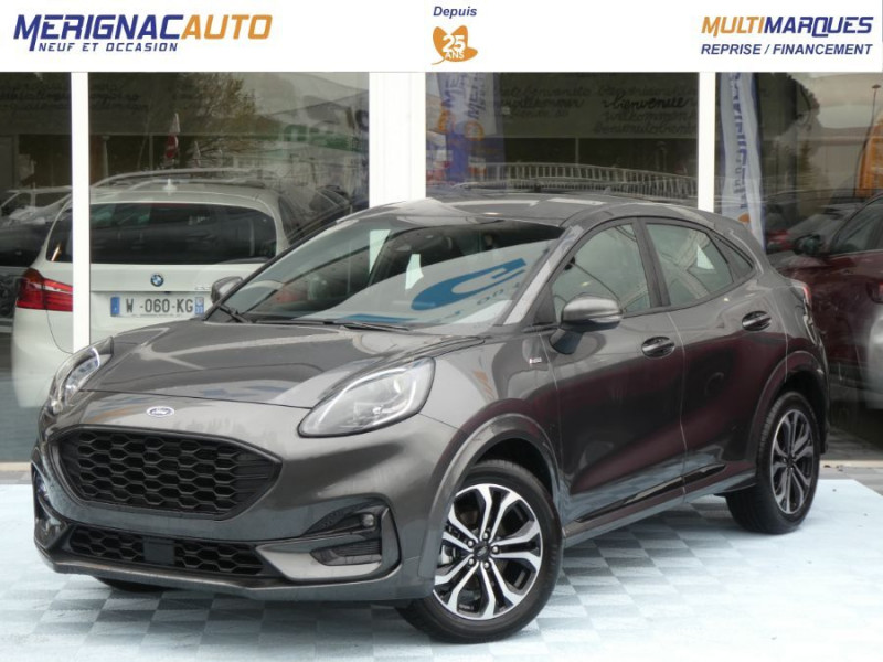 Ford PUMA 1.0 EcoBoost 125 DCT7 ST-LINE (8 Equips. Optionnels) ESSENCE GRIS MAGNETIC Neuf à vendre