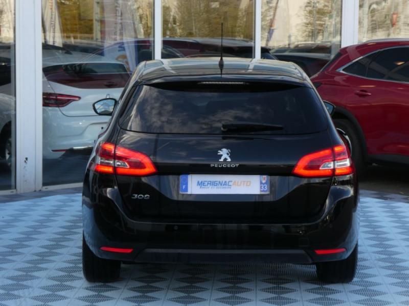 Photo 15 de l'offre de PEUGEOT 308 SW II (2) 1.5 BlueHDi 130 EAT6 BUSINESS GPS TOIT Pano à 17150€ chez Mérignac auto
