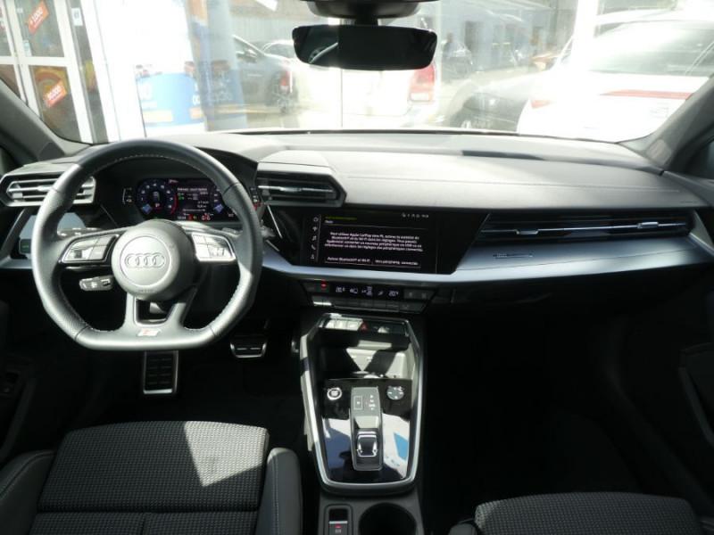 Photo 6 de l'offre de AUDI A3 SPORTBACK IV 40 TFSIe 204 S Tronic S LINE Mirror Key Less Induction à 39980€ chez Mérignac auto