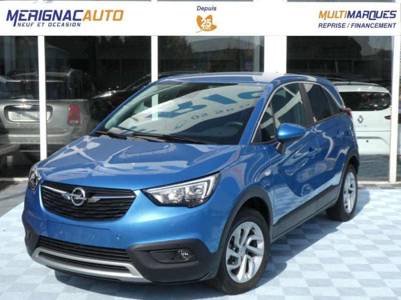 Opel CROSSLAND X 1.5 Turbo D 120 BVA6 INNOVATION Mirror Link Camera Privacy Glass DIESEL BLEU INTENSE METAL Occasion à vendre