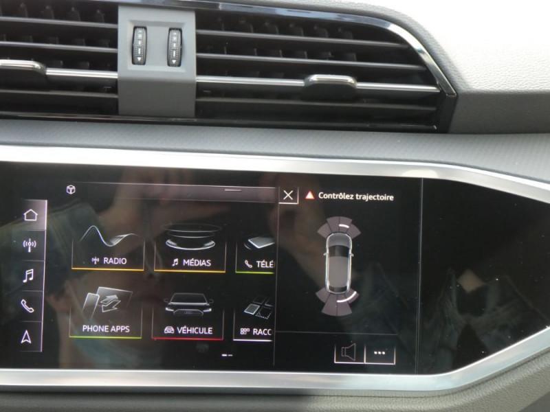 Photo 15 de l'offre de AUDI Q3 SPORTBACK 35 TDI 150 S Tronic 7 2WD GPS Cockpit LED JA18 à 43490€ chez Mérignac auto