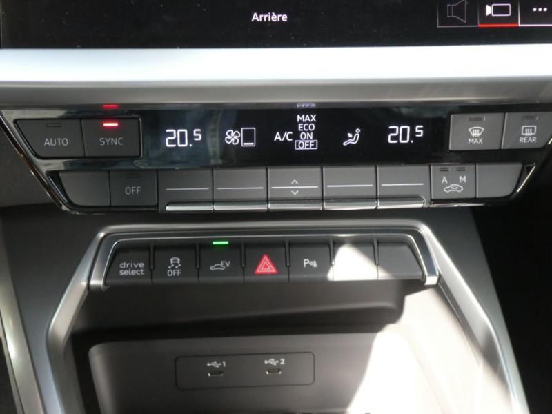 Photo 13 de l'offre de AUDI A3 SPORTBACK IV 40 TFSIe 204 S Tronic S LINE Mirror Key Less Induction à 39980€ chez Mérignac auto
